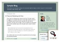 Blogger classic Rounders template