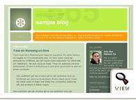 Blogger classic No 565 template