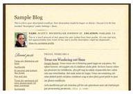 Scribe Blogger classic template