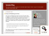 old Blogger classic Rounders 2 template