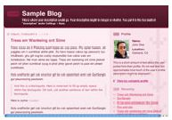old Blogger classic Thisaway Rose template