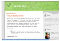 old Blogger classic Tic Tac template