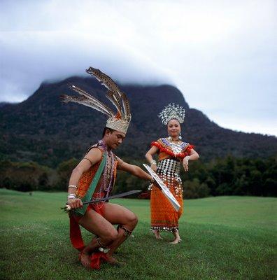 Sarawak Native (Dayak) Cultural Dance
