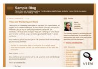 old Blogger classic Thisaway template