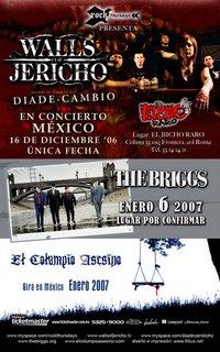 Walls of Jericho y otras cosas mas...