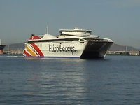 Tráfico mercancías Ceuta-Algeciras