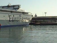 Euroferrys Pacífica llega al puerto de Algeciras