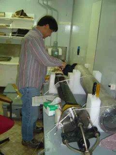 Haru assembling hydrophones