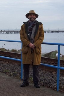 On the boardwalk at White Rock