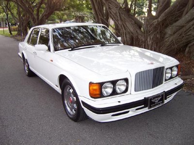 Bentley turbo r white