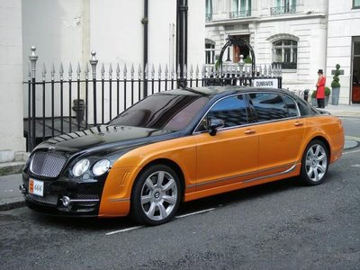 Bentley Flying Spur Mansory RRR Rashid