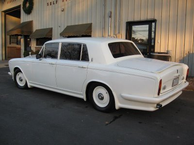 Rolls Royce Silver Shadow hot rod