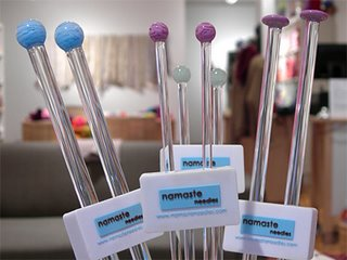 Namaste Needles sphere glass needles