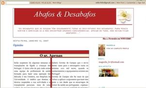 O Malaposta fez uma pesquisa na Net e encontrou este blog da Magnólia. Foi mesmo sorte!!!...