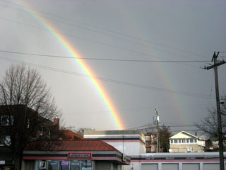 Double Rainbow, West Seattle