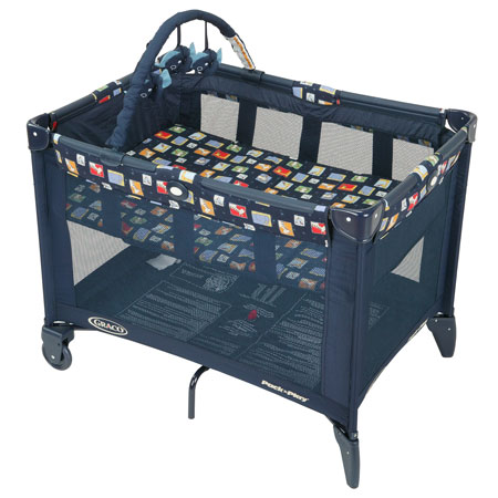 Once BabyGeek adjusted to a crib in a private room at home and neared the bassinetu0027s upper weight limit the Pack Nu0027 Play would no longer suffice.  sc 1 st  Baby Toolkit - Blogspot & Baby Toolkit: Rest In Peas: The Peapod Travel Bed