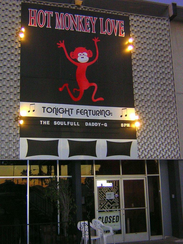 Hot Monkey Love Cafe (Now Closed) - 5960 El Cajon Blvd