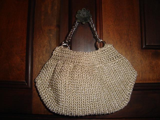 Bolsa De Croche Para Casamento : Tecendo pontinhos bolsa de croch? fat botton bag