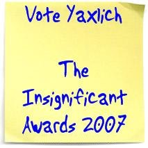 Vote for Yaxlich