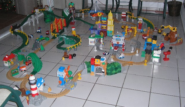 Cars  Geotrax Layout