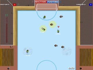 Addictive Football Ice Pitch - Click to Enlarge