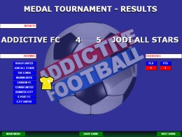 Addictive Football - Results