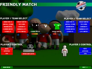 Addictive Football Team Ratings - Click to Enlarge