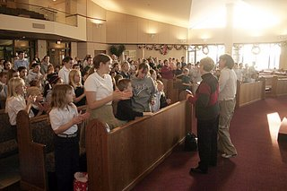At Holy Cross