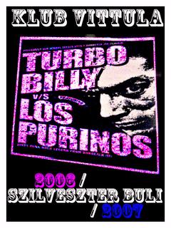 turbobilly vs. los purinhos poster