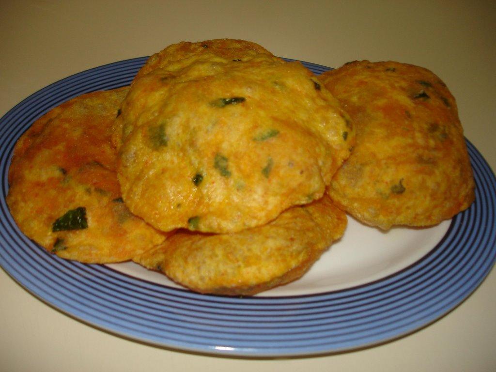 South indian recipe red pumpkin masala poori forumfinder Choice Image