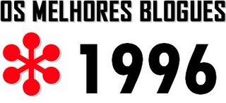 Os melhores blogues *1996