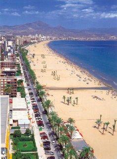 Una playa de Alicante