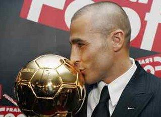 Fabio Cannavaro melhor do Mundo