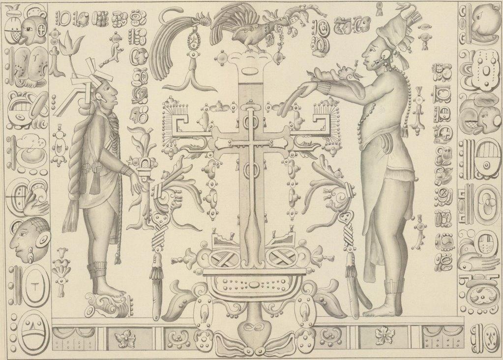 BibliOdyssey: Mayan Civilization Bas Reliefs at Palenque