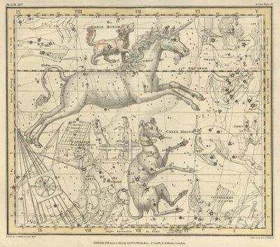 Plate from Jamieson's Celestial Atlas