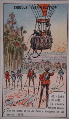 Chocolate Tradecard - stilts