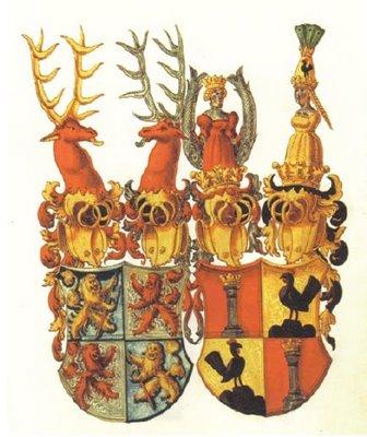 Zimmerische Chronik - heraldry