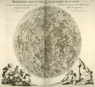 Chérubin d'Orléans - Macule du Disque (map of moon surface)