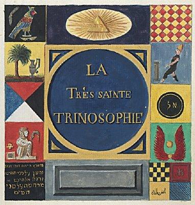 La Tres Sainte Trinsophie Titlepage