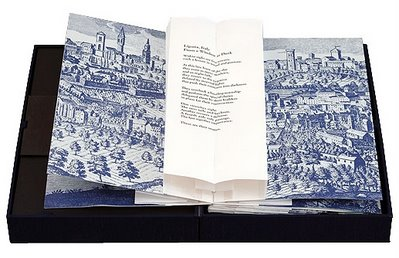 Carol Barton bookart - five luminous towers
