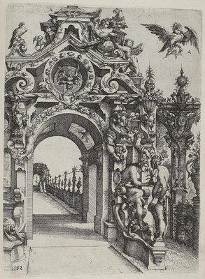 Corinthian mannerist engraving