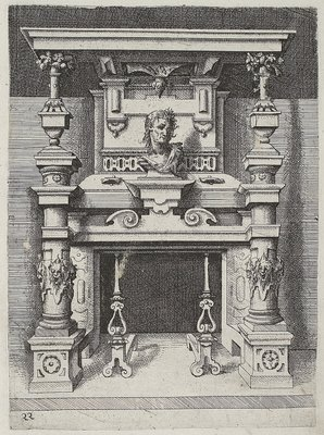Tuscan engraving by Dietterlin