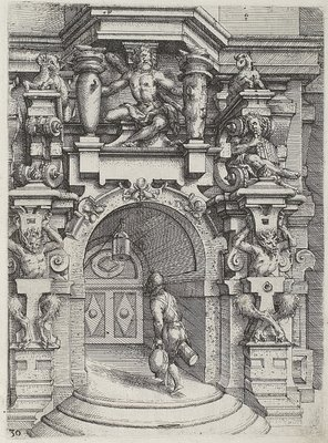 1598 Tuscan architectural fantasy