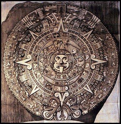 Antonio de León y Gama Aztec Sun Stone