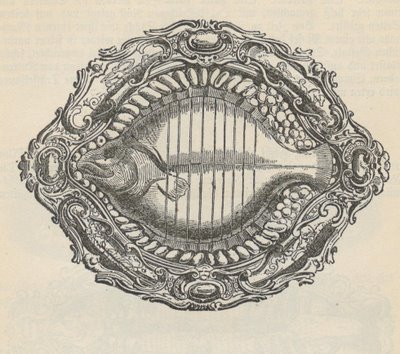 Stripey Fish Plate