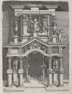 Doric engraving work