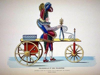 Henry D'Allemagne - Polichinelle et son vélocipéde