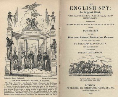 The English Spy - Titlepage