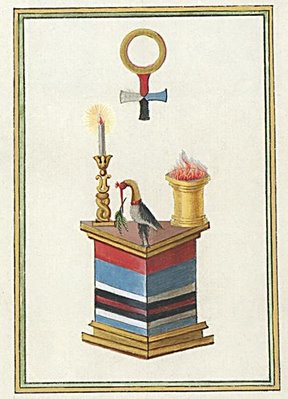 Ibis, Flame on Altar