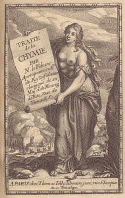 Frontpiece , Nicaise Le Févre - 'Traicté de la Chymie'